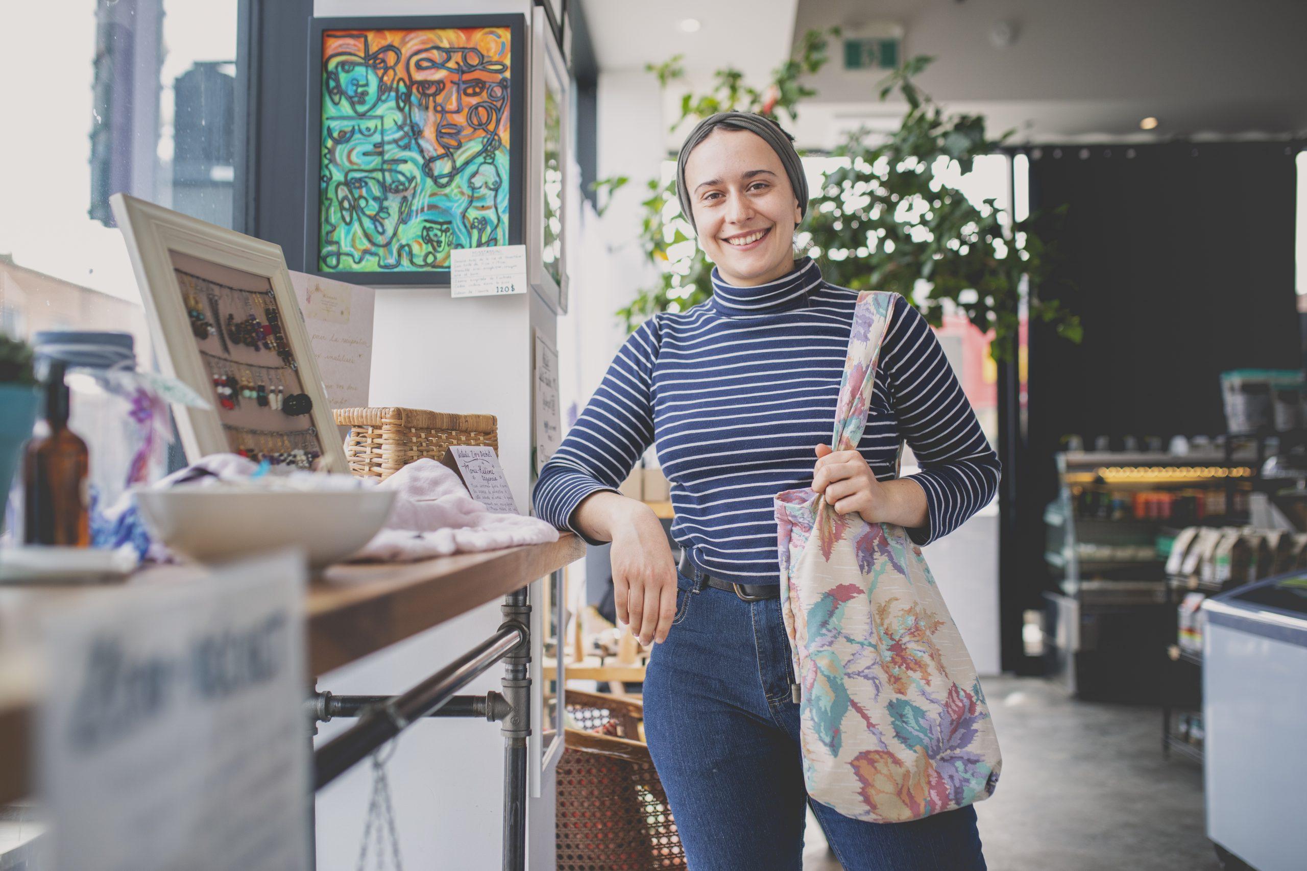 Des commerçants rosepatriens relèvent avec brio le premier Défi Zéro déchet